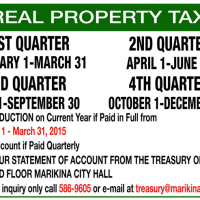 50% Reduction on Real Property Tax in Marikina